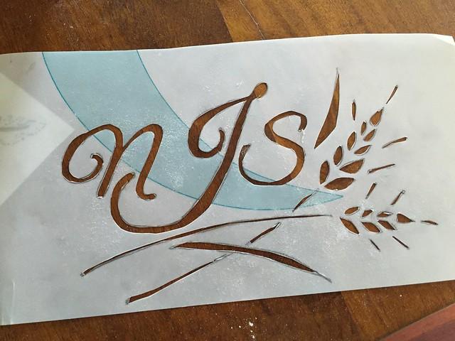 Stencil by Mika