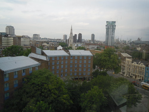 View from my window: International House, University of Westminster. From Study Abroad Guide to Accommodations in London