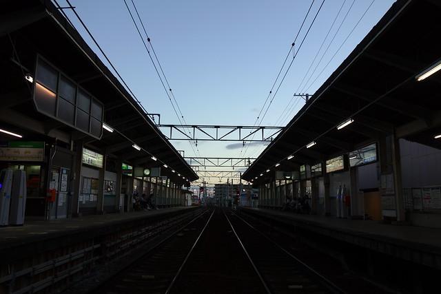 2016/08 叡山電車修学院駅 #02