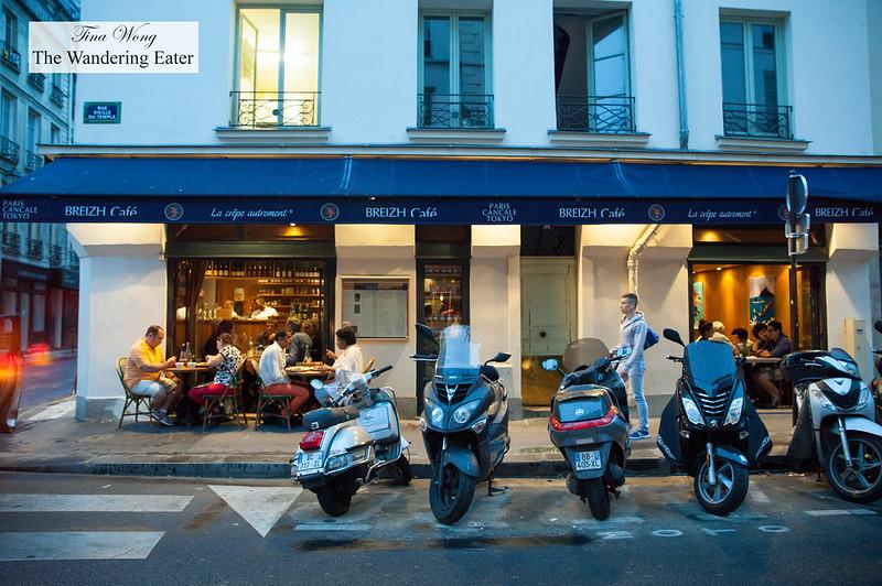 Exterior of Breizh Café