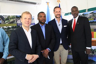 UNDP Goodwill Ambassador, HRH Crown Prince Haakon of Norway visits Haiti | by United Nations Development Programme