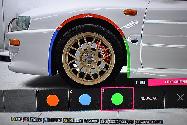 Forza 7 voiture kit carrosserie