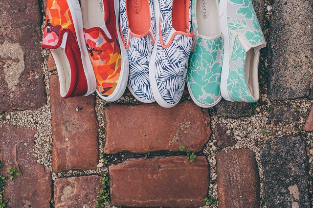Bucketfeet collaborates with artists worldwide for one-of-a-kind designs.