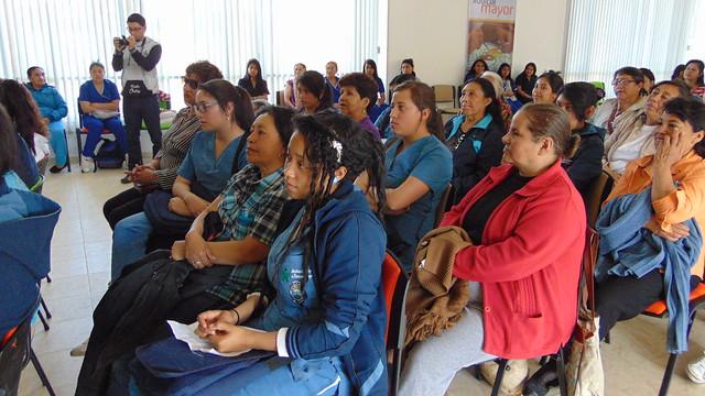 Participación en el Encuentro intergeneracional