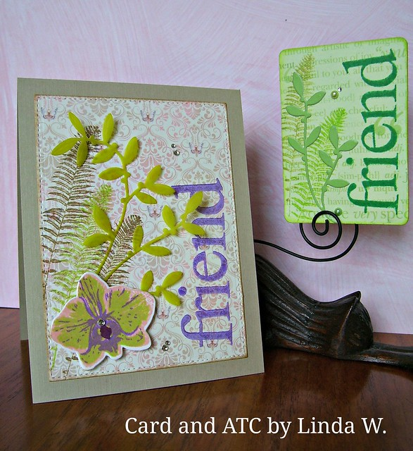 Friend Card and ATC