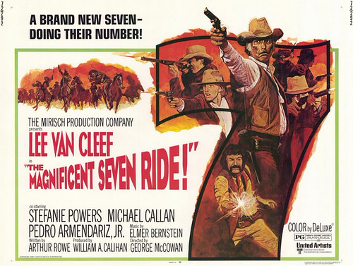 The Magnificent Seven Ride - Poster 3