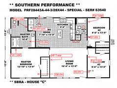 Heating and Ventilation Plan for House C