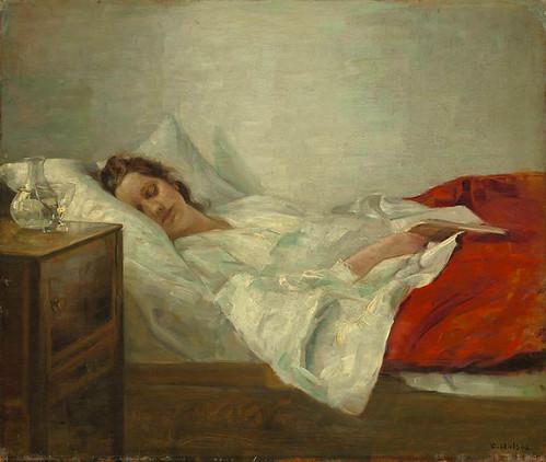 Carl Vilhelm Hols 248 E Quot Sleeping Woman Quot 19th Century Carl