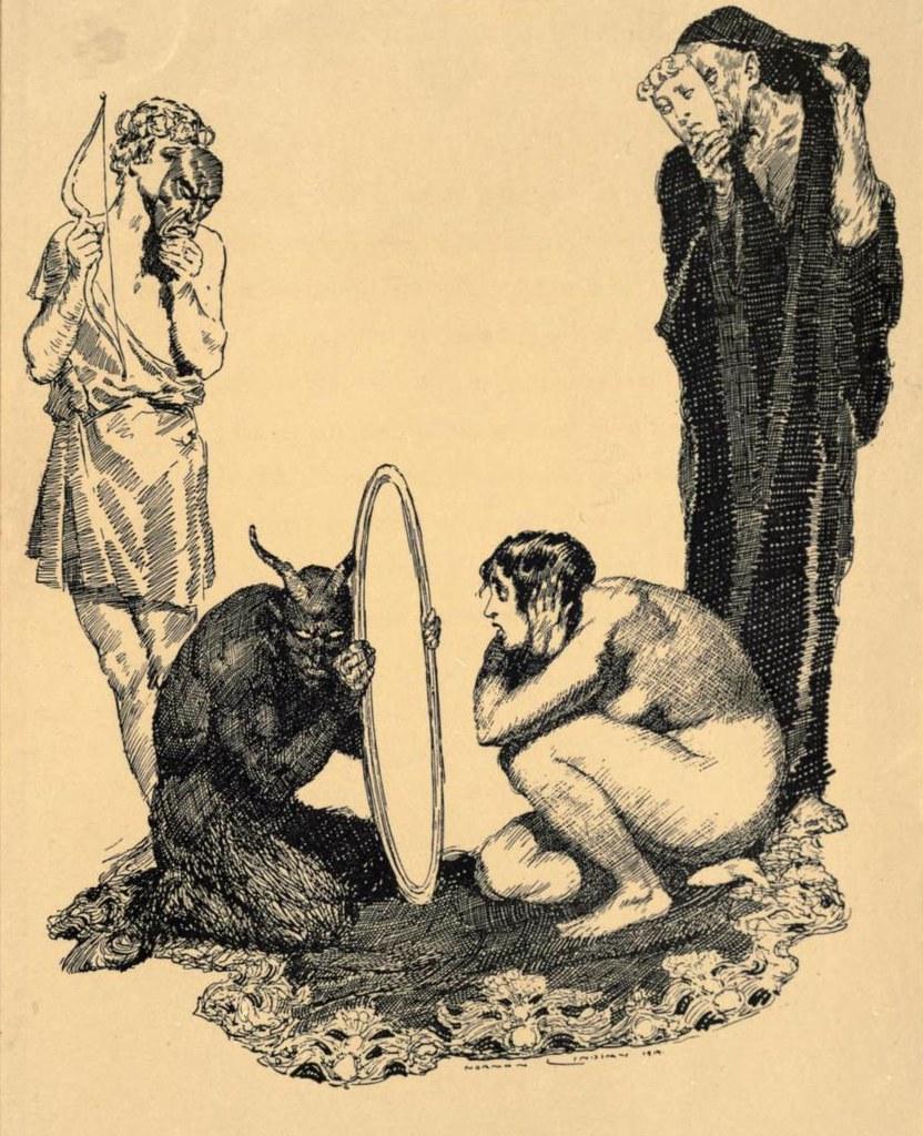 Norman Lindsay - Reflections, 1919