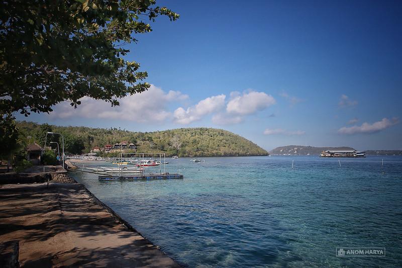 Toyapakeh Beach on Nusa Penida