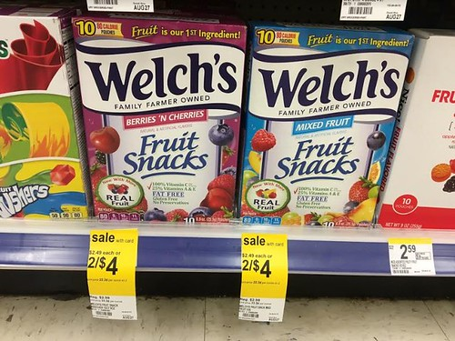 Welch's Fruit Snacks at Walgreens