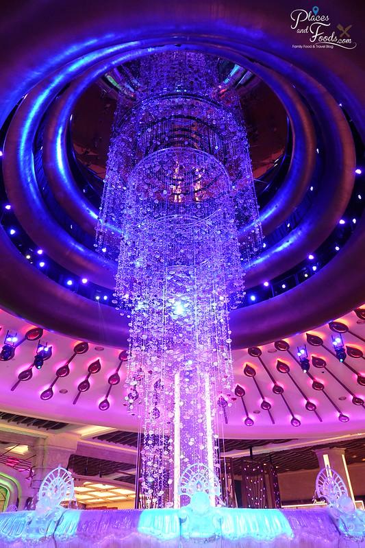 galaxy macau chandelier fountain