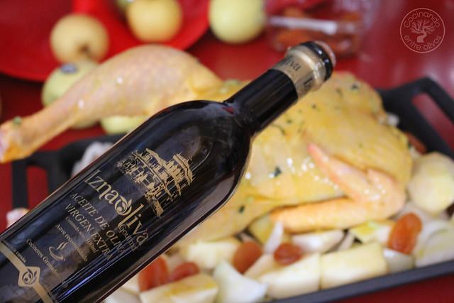 Pollo al horno con manzanas, cebolla, orejones e hidromiel (8)