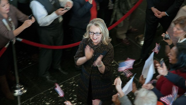Secretary Clinton Says Farewell