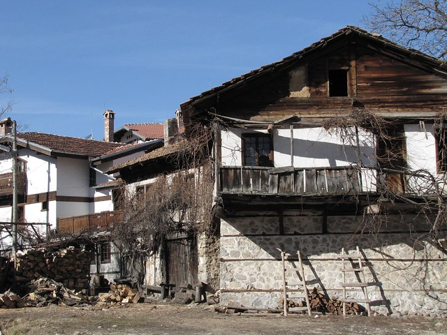 The quaint town of Bansko
