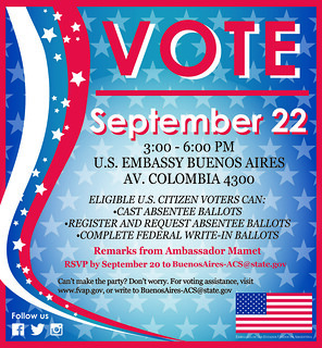 ACS Voting event - September 2016