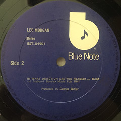 LEE MORGAN:LEE MORGAN(LABEL SIDE-C)