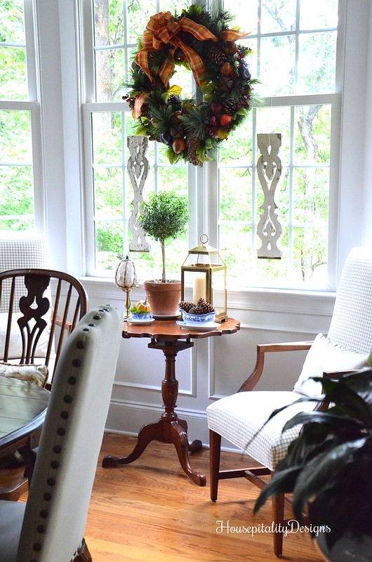Balsam Hill Charleston Wreath - Dining Room - Housepitality Designs