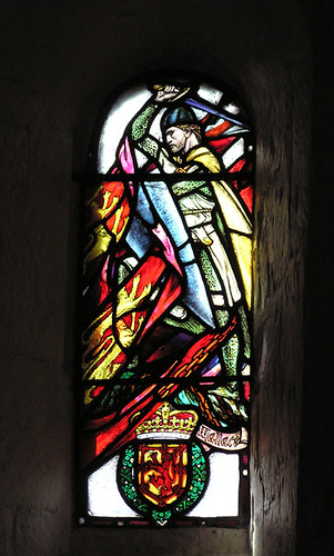 William Wallace window glass