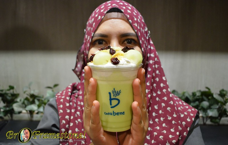 Melon Smile at Caffe Bene, Sunway Pyramid