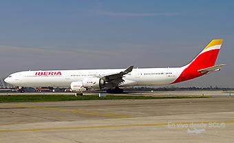Iberia A340-600 EC-LEV (RD)