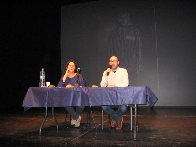Fotografies de l'acte El paper de les dones en la lluita contra el feixisme (La Llagosta, 2015)