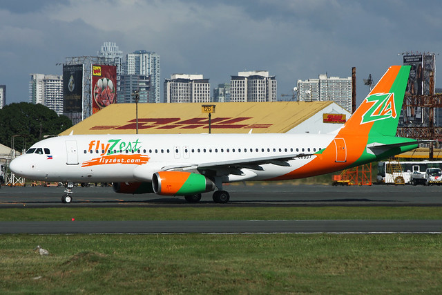 RP-C8997 Zest Air A320-232 Manila 19/11/2012