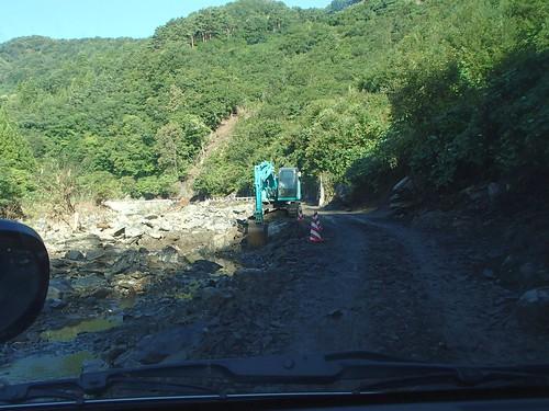 台風10号被災 岩手県下閉伊郡岩泉町で災害ボランティア(援人 0921~25便)