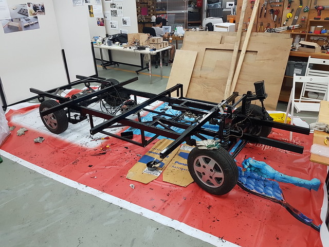 Painting the Chassis