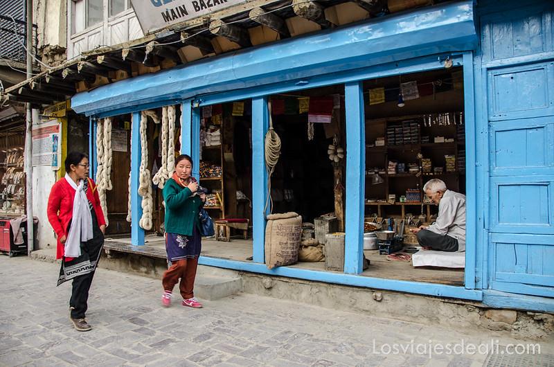 comercio tradicional de Leh