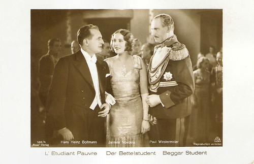 Jarmila Novotna, Paul Westermeier and Hans Heinz Bollmann in Der Bettelstudent (1931)
