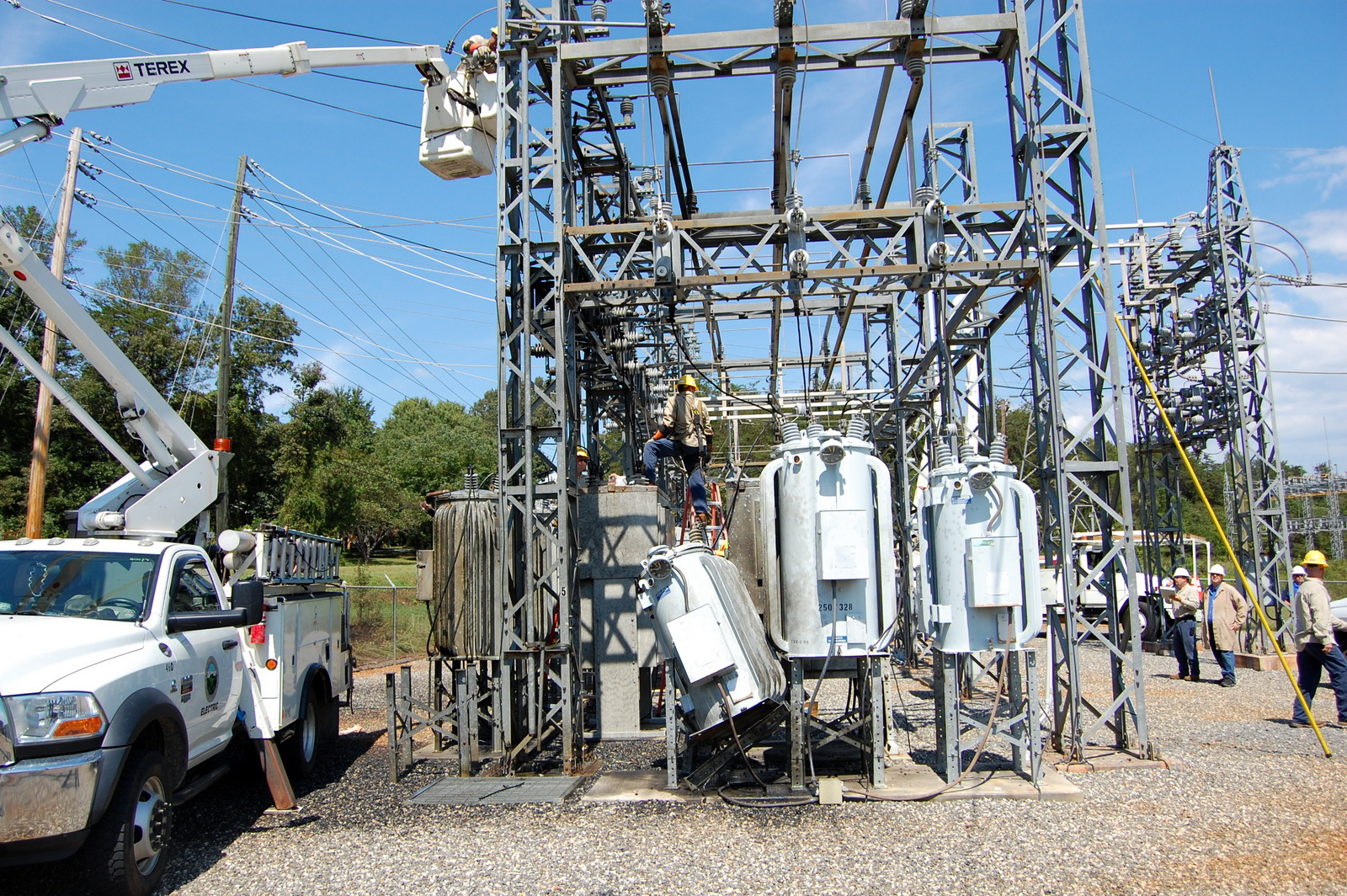 Equipment Malfunction Causes Power Outage