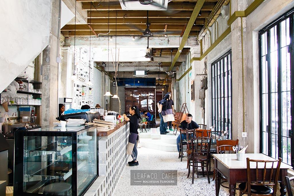 Leaf Amp Co Cafe At Mingle Chinatown Kl Latte In Old World