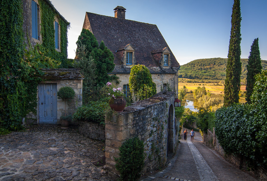 House in Beynac - Dordogne (Morning Light)