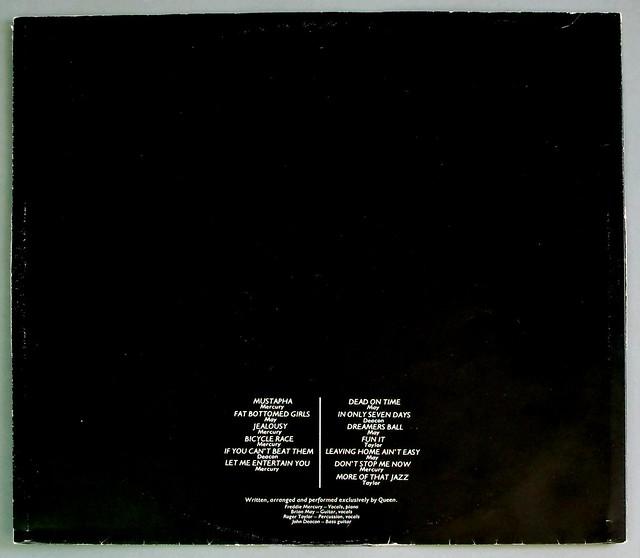 "QUEEN JAZZ France FOC GATEFOLD 12"" LP VINYL"