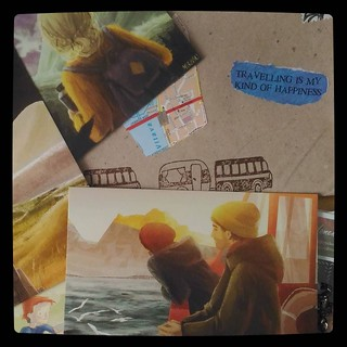 Конверт от #cardfromtheheart с открытками (иллюстратор #МарияМуравски), for #365days project, 249/365