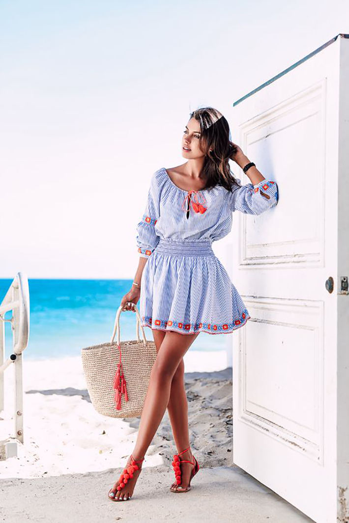 Beach outfits summer street style inspiration fashion style accessories1