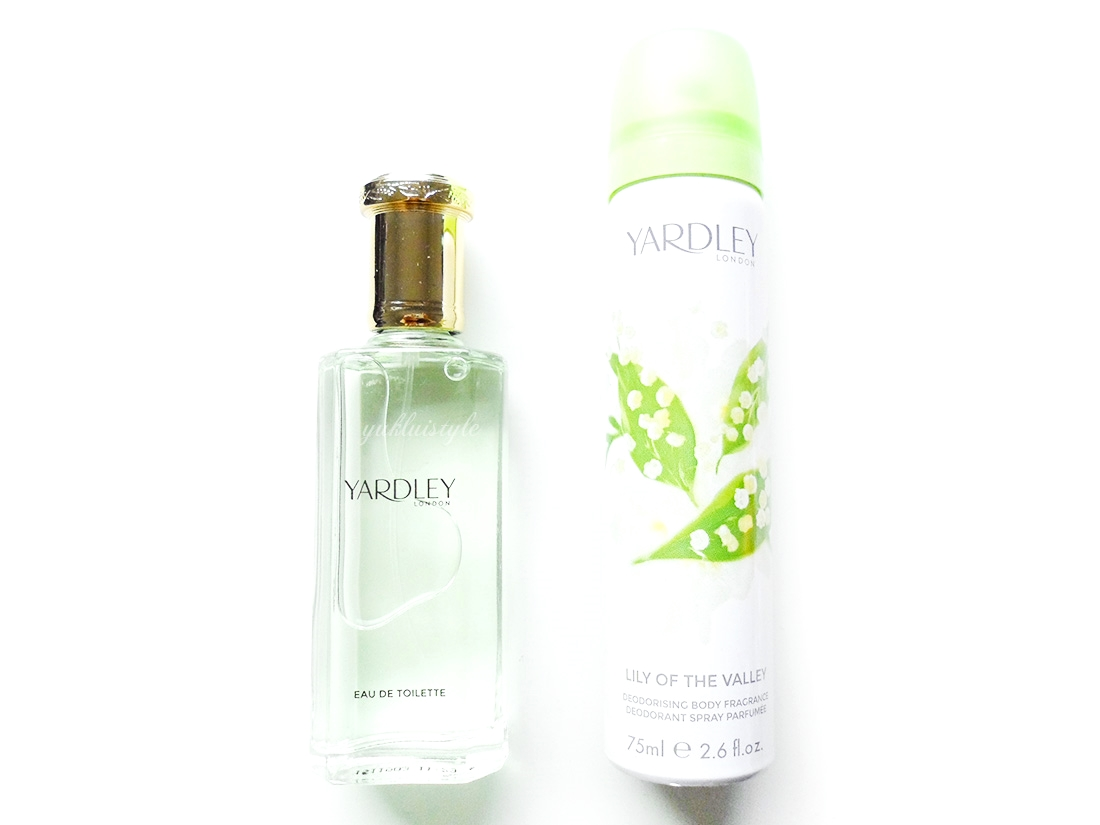 Yardley Lily of the Valley eau de toilette and body fragrance