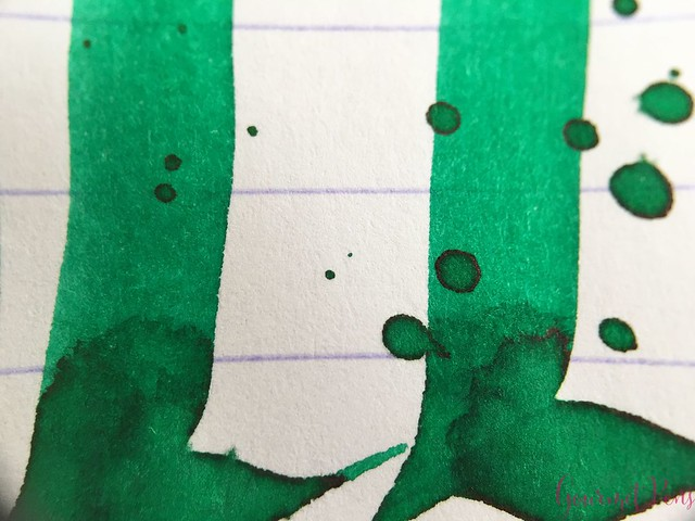 Ink Shot Review Pelikan 4001 Brilliant Green @deRoostwit 8