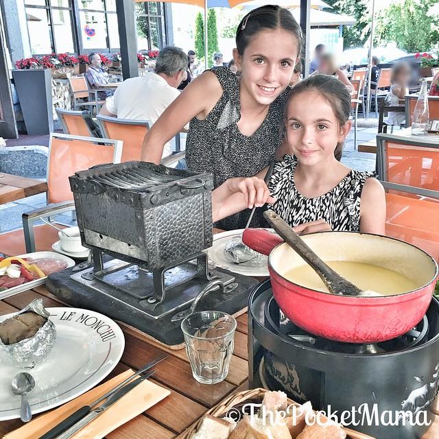 Chamonix coi bambini - dove mangiare