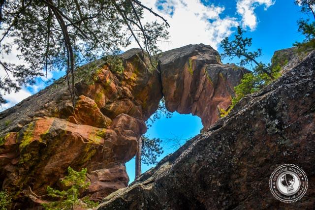 Royal Arch Boulder