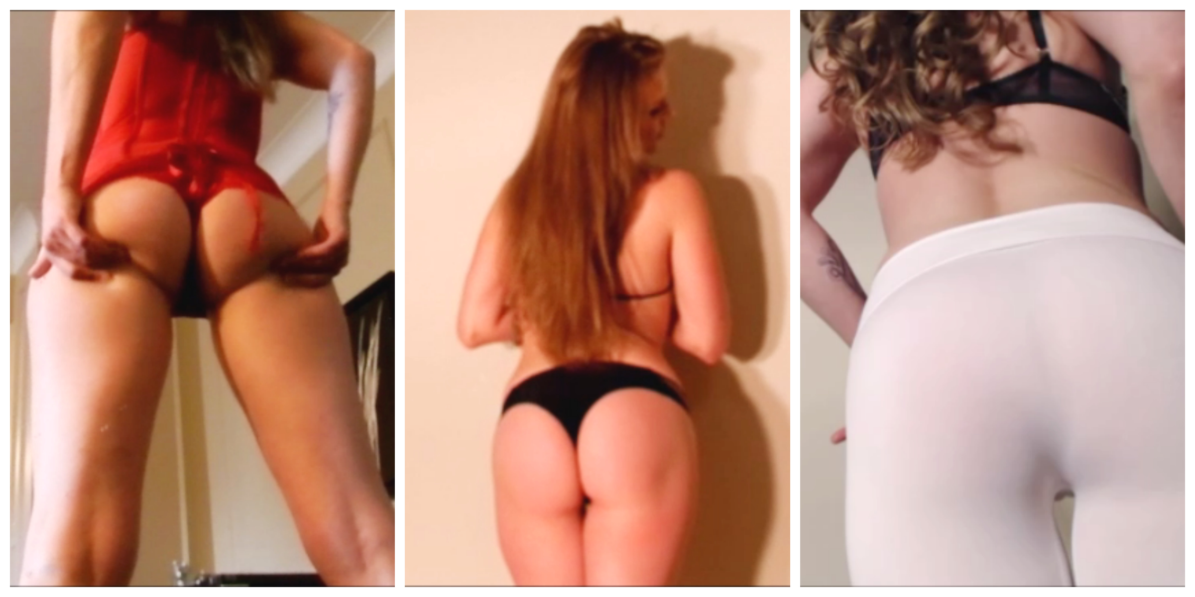Niteflirt Ass Collage