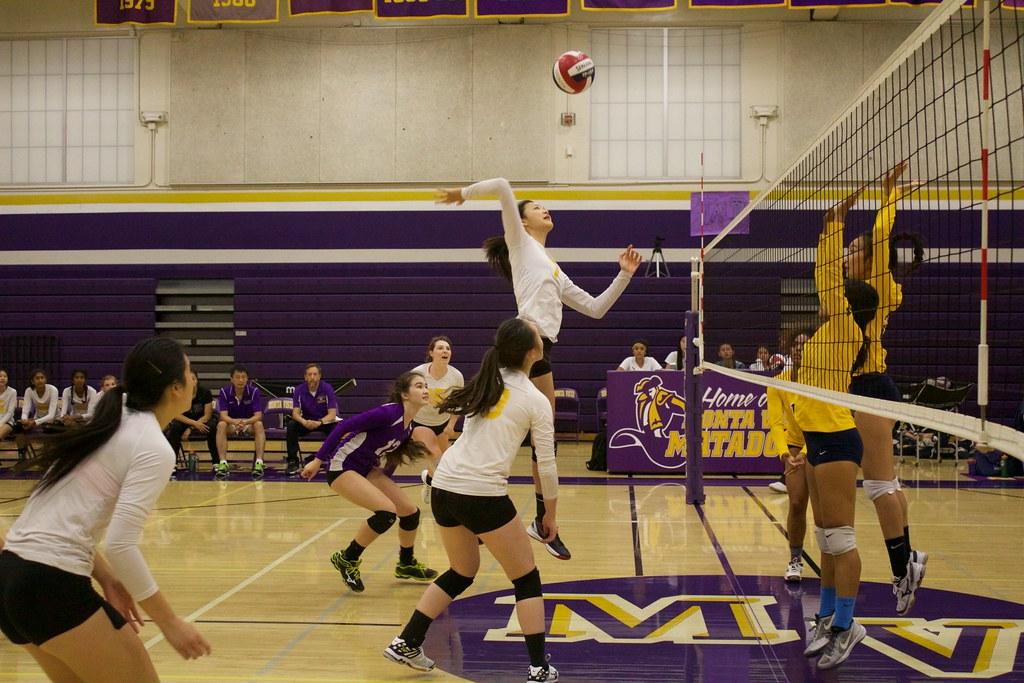 Girls volleyball: MVHS vs Milpitas HS