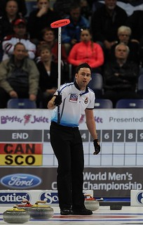 Victoria B.C.April 6,2013.Ford Men's World Curling Championship.Scotland skip David Murdoch,CCA/michael burns photo | by seasonofchampions