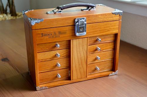 Engraved Gerstner Tool Box