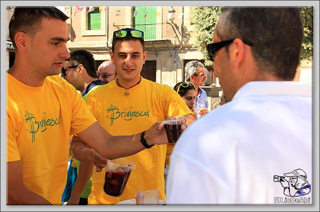 Briviesca Fiestas 2016 Bajada de las blusas  (1)