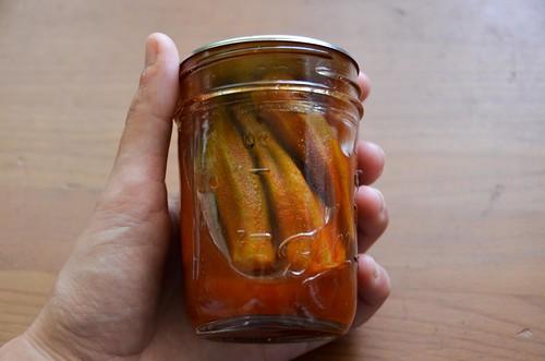 Pickled Smoked Paprika Okra (Smokra)