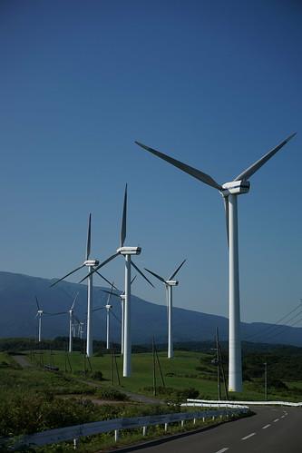20160813 仁賀保高原風力発電所