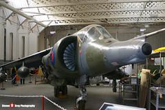 XZ133 10 - 712192 - Royal Air Force - Hawker Siddeley Harrier GR3 - 051016 - Duxford - Steven Gray - IMGP8167