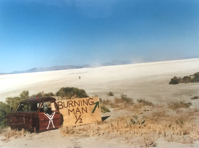 Camp Hasselhoff at Burning Man 1995